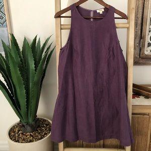 💜 Wilfred Aritzia Cute everyday Linen dress
